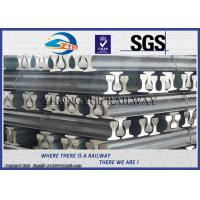 Buy cheap GB6KG GB9KG GB12KG Steel Crane Rail / Gantry Crane Track For Railway Construction from wholesalers