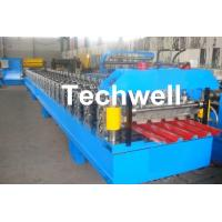 Quality IBR Roofing Sheet Roll Forming Machine / IBR Panel Forming Machine For Making Roof Wall Cladding wholesale