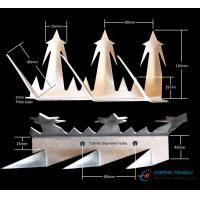 Buy cheap Stainless Steel Anti-Climb Wall Spikes, 0.5m-2.0m Length, Anti-Rust from wholesalers