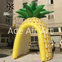 Buy cheap cheap vivid inflatable promotion booth inflatable pineapple tent from wholesalers