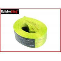 Buy cheap 20000 lbs Polyester Heavy Duty Tow Straps Flat Eye Recovery Strap from wholesalers