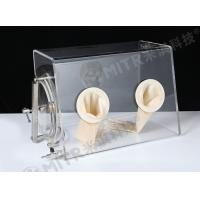 China Transparent Sealed Laboratory Glove Box Dust Proof Atmosphere Protection on sale