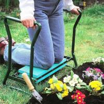 Quality Folding Garden Kneeler Seat , Portable Garden Kneeling Stool Convenient Function wholesale