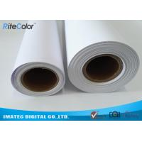 China 30M Polypropylene Inkjet Synthetic Paper , Matte Water Resistant Printer Paper Roll on sale