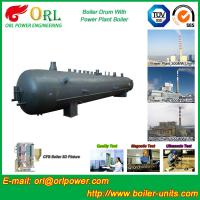 Quality Oil Industry Heating Boiler Mud Drum , Compact ASTM Mud Drum In Boiler wholesale