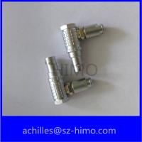 Buy cheap lemo elbow connectors, FHG 0B 1B 2B series metal connectors, medical connectors product