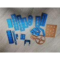 Quality Aluminum Metal CNC Machining Drilling Brushed Hinge Process With Anodized Color wholesale
