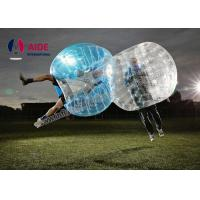 Cheap Water Walking Floating Roller Body Zorb Ball For Pool Games , Clear Inflatable Ball for sale