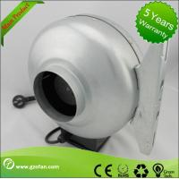 Quality galvanised Sheet Steel Circular Inline Fan Insulation Class F The Wood Shop wholesale