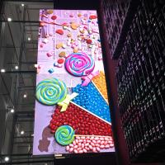 Quality Original factory LED Display P2.5 indoor TV sdudio wall vedio walls module 320x160mm aluminum cabinet 480x480mm wholesale