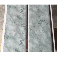 Quality 25cm Middle Groove Printing Ceiling PVC Panels Easy Install / Cleaning wholesale