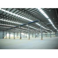 Quality Industrial Steel Structure Workshop Drawing Construction For Producing wholesale