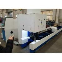 Quality Customized Color Metal Tube Cutting Machine , 1000W 500W Tube CNC Pipe Cutter wholesale