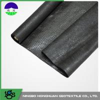 Quality Biological Split Film Woven Geotextile Seepage With UV Resistant wholesale