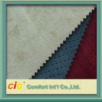 Buy cheap Wear-resisting Faux Suede Fabric 100-160gsm , Microfiber Suede Fabric product