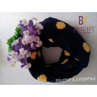 Quality Colorful Knitted Neck Warmers With Wave Point For Winter / Autumn wholesale