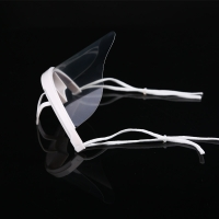 Quality Earloop Style Transparent Plastic Face Cover For Chef wholesale
