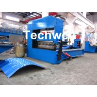 Quality Auto Crimping Cold Roll Forming Machine , Arch Metal Roofing Forming Machine wholesale