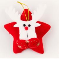 Quality Christmas Decorations Accessories Fashional Design Santa Clause Deer wholesale