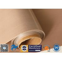 China 61 Inches high temperature fabric , teflon coated fiberglass cloth Oven Liner Materials on sale