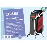 Buy cheap Clinic 808nm Diode Laser Hair Removal Machine 1 - 10Hz Adjustable Italy Pump 12 Germany Bars from wholesalers