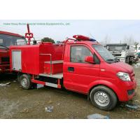 Quality Left HandDrive Fire Fighting Truck With GasolinePortable Fire Pump 1CBM Water wholesale