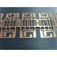 Buy cheap Discrete Device Stamped Lead Frame Progressive Sheet Metal DiesCopper Material from wholesalers