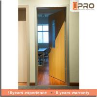 China Modern Design Solid Wood Internal Doors High Strength Durable Performance on sale