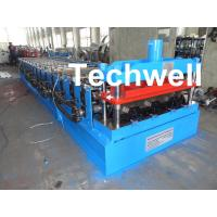Quality CE Approved Floor Deck Roll Forming Machine for Making 0.8 --1.0 mm Thickness Steel Structure wholesale