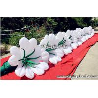Quality Beautiful Inflatable Flower Chain for Events and Wedding Decor wholesale