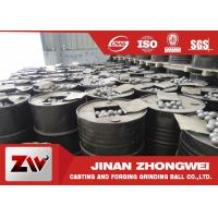 China Low wear rate Grinding Steel Balls in cast and forged , HS 73261100 on sale