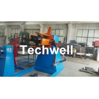 Quality Active Uncoiling , Hydraulic To Expand 5, 10, 15 Ton Hydraulic Uncoiler / Decoiler With Coil Width 1500mm wholesale