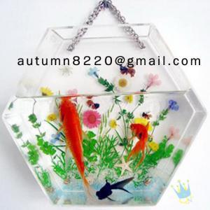 Quality Fashion cylinder acrylic fish aquarium wholesale
