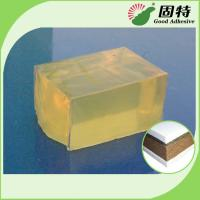 Buy cheap Transparent Block Hot Melt Pressure Sensitive Adhesive For Mattress Layers from wholesalers
