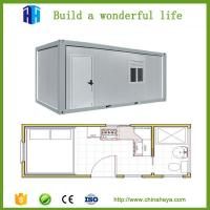 Quality casas prefabricadas thermal insulation sandwich panel prefab container house wholesale