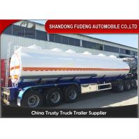Quality 9000 Gallon Fuel Tanker Semi Trailer Optional Dimension High Strength Steel Material wholesale