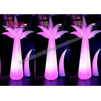 Quality Outdoor Inflatable Scene Lighting Stage Decoration LED light Inflatable Flower wholesale