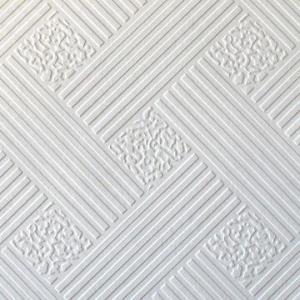 China PVC laminated gypsum tile with aluminum foil on sale
