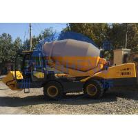 China Adjustable 1.5m3 Self Loading Concrete Mixer 6252 X 2200 X 2892 Mm Size on sale