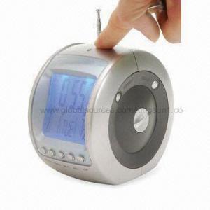 China LCD Clock Radio/Multifunction Radio with Alarm Clock and FM Radio on sale