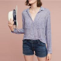 China 2017 Women work blouses deep v-neck long sleeve shirts for women on sale
