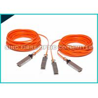 Quality Orange 4.0mm Mulimode Fiber Active Optical Cable 25G SFP28 Connector wholesale