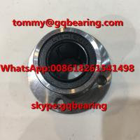 China Gcr15 steel LMF16UU Round type Rubber Sealed Flange Linear Ball Bearing on sale