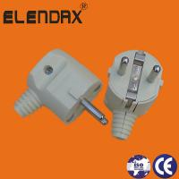 Quality Wenzhou Elendax ABS Material German type 2 Roud Pin Plug (P7051) wholesale