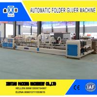 Quality Vacuum Feeding Carton Making Machine Stainless Steel With Touch Screen Control System wholesale