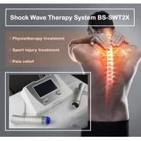 Quality Excellent Back Pain Relief Shockwave Therapy Machine , Shockwave Physiotherapy Machine wholesale
