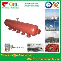 Quality Oil-fired ISO9001 SA516GR70 Boiler mud drum with Natural Circulation wholesale