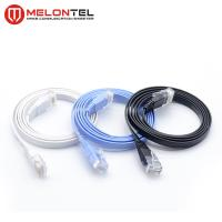 China Colourful RJ45 Network Patch Cord  MT 5004 , Cat6 Flat LAN Patch Cord With Boot on sale