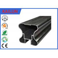 China Hollow Powder Coating Aluminum Extrusion Profiles for Sliding Door / Wardrobe on sale