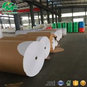 Quality Laminating Film Thermal Paper Jumbo Rolls , Jumbo Thermal Paper Virgin Pulp Style wholesale